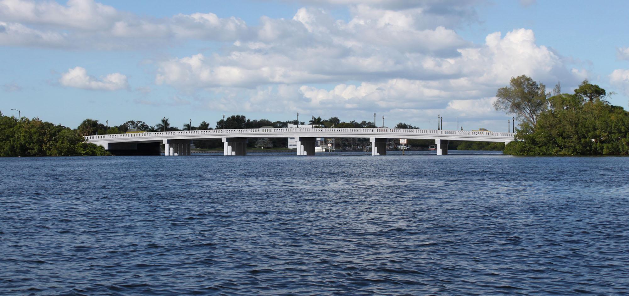 40th Avenue Bridge Rendering – Option A